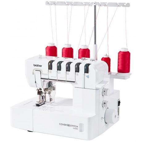 Plokščiasiūlė buitinė siuvimo mašina Brother CV3550