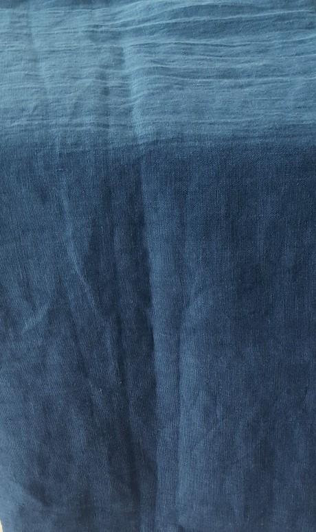 Lino audinys drabužiams, namų tekstilei, atraiža 104 cm, elektrik 4c33
