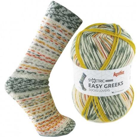 Mezgimo siūlai kojinėms Katia easy greeks socks 72