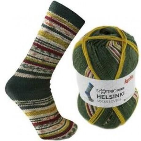 Mezgimo siūlai kojinėms Katia helsinki socks 53