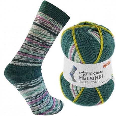 Mezgimo siūlai kojinėms Katia helsinki socks 54