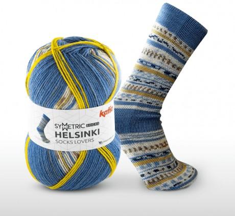 Mezgimo siūlai kojinėms Katia helsinki socks 50