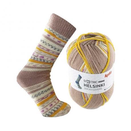 Mezgimo siūlai kojinėms Katia helsinki socks 51