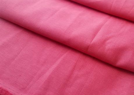Lino audinys drabužiams, atraiža 149 cm, rožinė 00c34