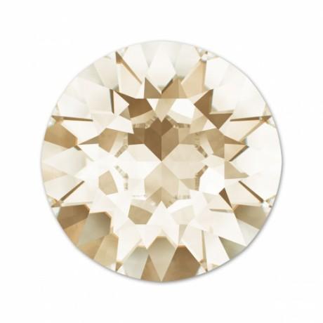 Swarovski kristalai Round stones 1088/29 Light silk