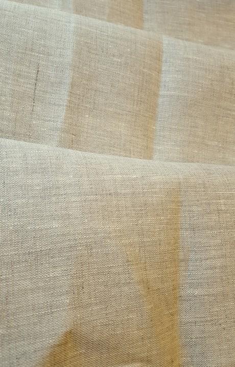 Dekoratyvinis lino audinys, atraiža 113 cm, natūralus linas, 9c93