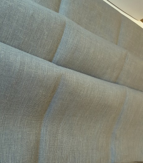 Lino audinys drabužiams, namų tekstilei, atraiža 215 cm, pilkas 4c33
