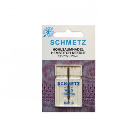 SCHMETZ Hemstitch Wing 100/16 sparnuota adata buitinei siuvimo mašinai