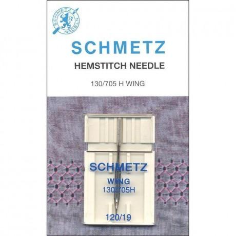SCHMETZ Hemstitch Wing 120/19 sparnuota adata buitinei siuvimo mašinai