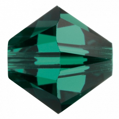 Karoliukai 5328/4 Emerald