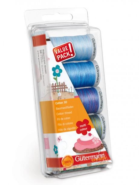 Gütermann medvilninių siūlų rinkinys, 731480 col. 2 multi colour