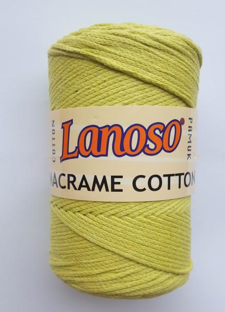 Lanoso macrame cotton siūlai sp. 911