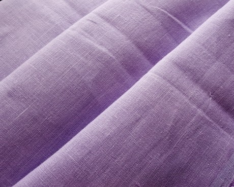 Lino audinys drabužiams, namų tekstilei, atraiža 130 cm, alyvinė 4c33