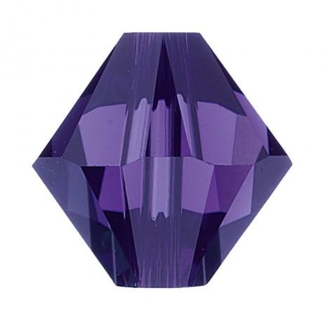 Karoliukai 5328/6 Purple Velvet