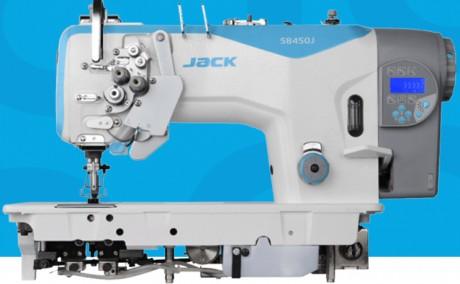 JACK JK-58750J-405  dviadatė šaudyklinio dygsnio siuvimo mašina pilani automatinė su adatos atjungimo funkcija