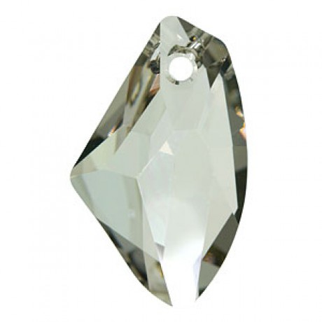 Pakabukas 6656/19 Galactic Vertical Pendant Crystal Silver Shade