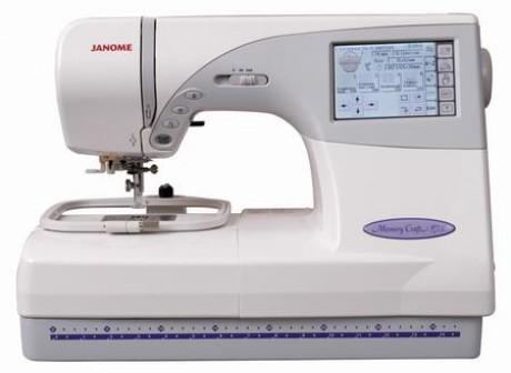 Siuvimo - siuvinėjimo mašina Janome 9700