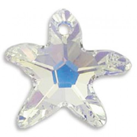 Pakabukas 6721/20 Starfish Pendant Crystal AB