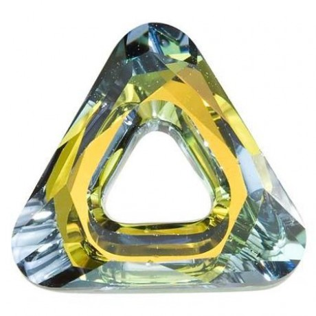Pakabukas 4737/20 Triangle Ring Crystal Sahara