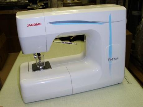Vėlimo mašina Janome FM725