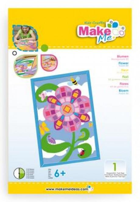 """Putplasčio žaislo rinkinys """"Gėlė iš mozaikos"""""""