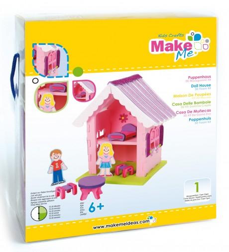 """Putplasčio 3D žaislo rinkinys  """"Lėlės namas"""""""