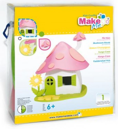 """Putplasčio 3D žaislo rinkinys  """"Grybų namas"""""""