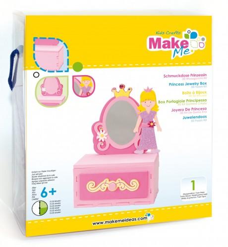 """Putplasčio 3D žaislo rinkinys  """"Princesės papuošalų dėžutė"""""""