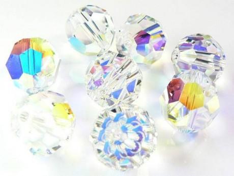 Karoliukai 5000/8 Crystal AB